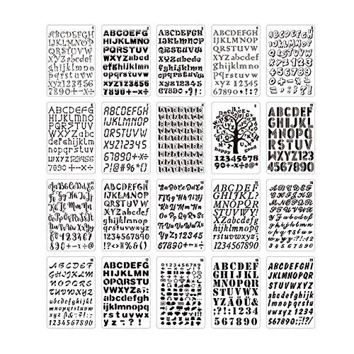 La Mejor Lista de Letras y números para artesanía , tabla con los diez mejores. 6