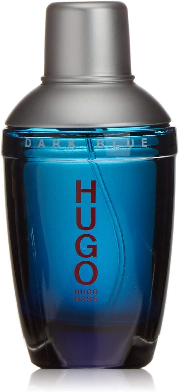 Hugo Dark Blue Eau De Toilette 75ml Amazon Co Uk Luxury Beauty