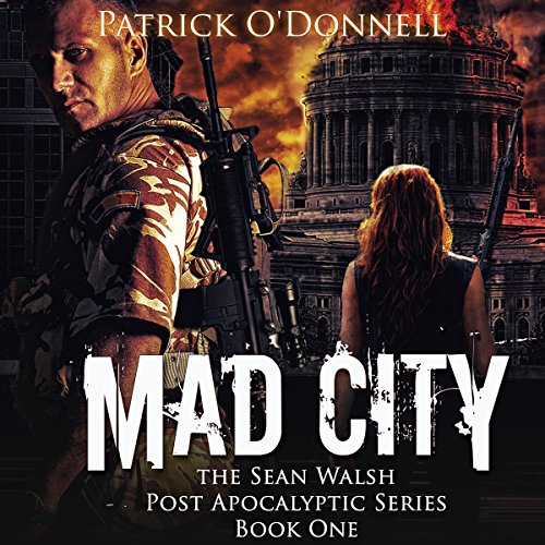Mad City audiobook cover art