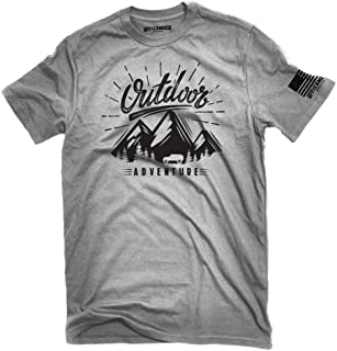 Outdoor Adventure OffCamber Apparel T-Shirt Jeep Outline Cotton Soft Ink Offroad 4x4 rockcrawling Unisex Shirt