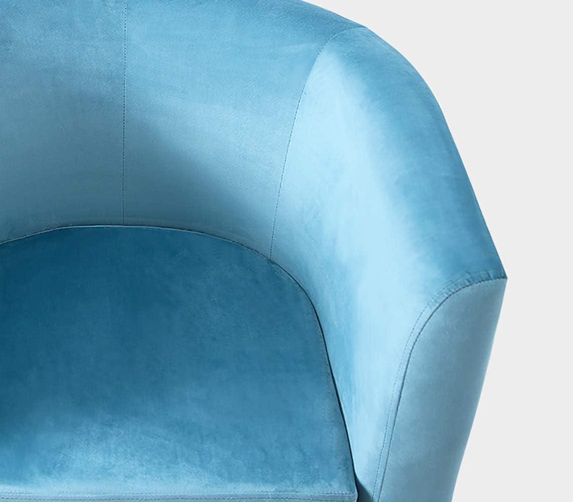 Moderne épais Flanelle Tissu Chaise Lazy, Salon Contemporain Fauteuil d'appoint, Une Seule Image Loisirs Canapé Chaise avec accoudoirs, Coussin rembourré épais,Rose Gray