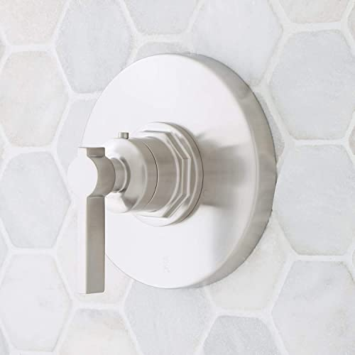 new arrival Signature Hardware 948556-LV Greyfield Thermostatic new arrival sale Valve Trim - Less Valve outlet online sale