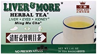 Liver & More Herbal Tea 20 Tea Bags Caffeine Free Liver Eyes and Kidney Health