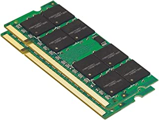 Memory Master 4 GB (2 x 2 GB) DDR2 667MHz PC2-5300 Notebook SODIMM Memory Modules (MMN4096KD2-667)