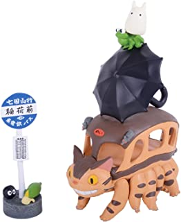 Benelic-Mon Neighbor Totoro Chatbus Pack of 13 Mini-Figurines, 4970381189891