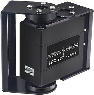 LewanSoul LDX-227 Full Metal Gear Standard Digital Servo with 17kg High Torque Dual Ball Bearing for RC Car Robot (Control Angle 270)