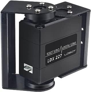 LewanSoul LDX-227 Full Metal Gear Standard Digital Servo with 17kg High Torque Dual Ball Bearing for Robot(Control Angle 270)
