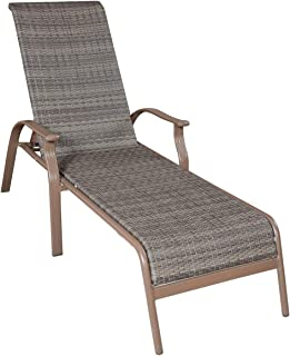Amazon Com Stackable Chaise Lounges Chairs Patio Lawn Garden