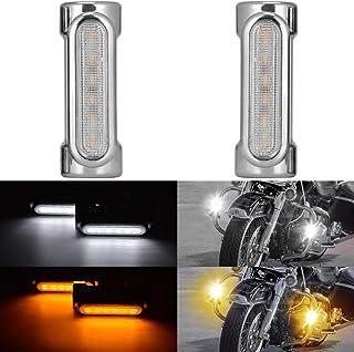 sharplace 1/Coppia di 9/LED indicatore del segnale del motociclo Indicatore di direzione luce lampada per motociclo Giallo