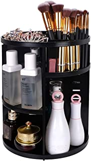 Detachable 360 Degree Spinning Makeup Organizer, Indoor Ultima Mulit-function Makeup Display Case with 7 Layers Adjustable...