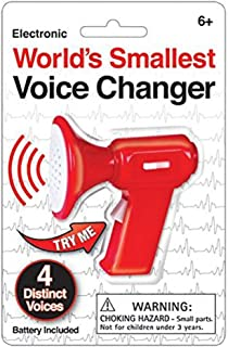 Westminster World's Smallest Voice Changer, Red