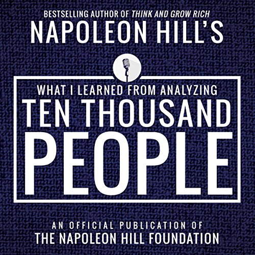 What I Learned from Anaylyzing Ten Thousand People audiobook cover art