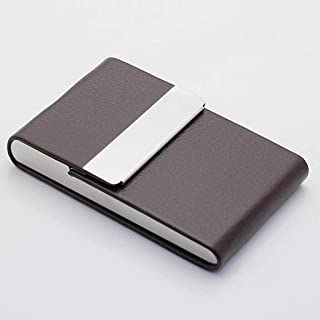 Aluminum Cigar Cigarette Case Tobacco Holder Pocket Box Storage Container Stainless Steel PU Card Smoking Case Accessories...