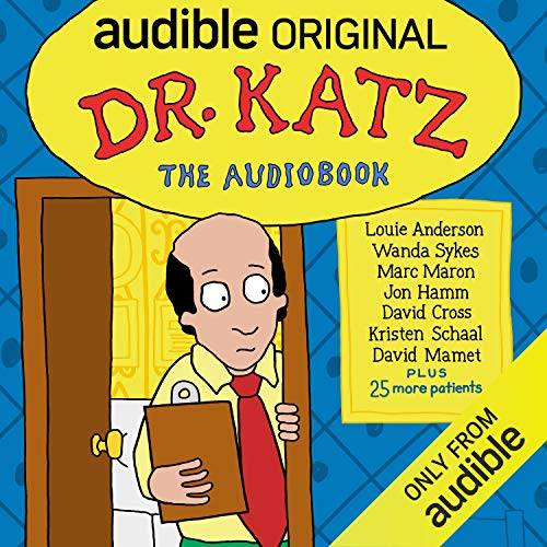 Page de couverture de Dr. Katz: The Audiobook
