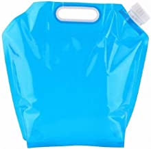 SYGA 10 liters Portable Collapsible Water Storage Tank Water Container Water Carrier Lifting Bag Camping Hiking Survival K...