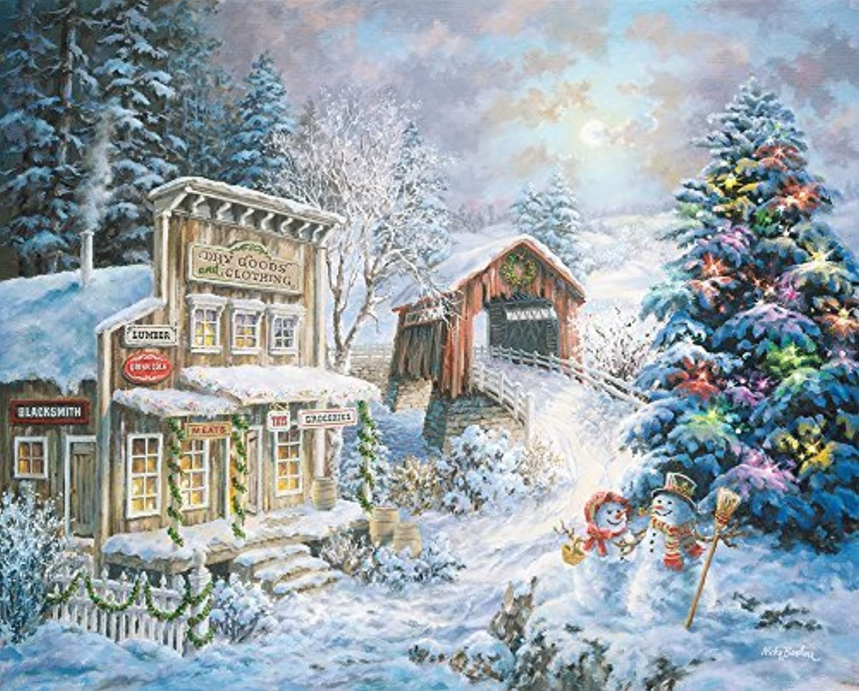 Springbok Puzzles Country Christmas Store Jigsaw Puzzle (1000 Piece) by Springbok