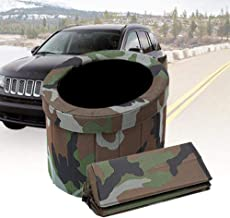 Portable Collapsible Car Toilet/Camouflage Vehicle Urine Bag - Suitable for Outdoor Emergency, Camping and Sleeping, Car Travel,Perfect Solution to The Outdoor Toilet Problem