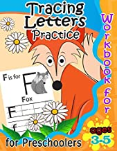 Tracing Letters Practice Workbook for Preschoolers Ages 3-5 (Kid's Educational Activity Books) (Volume 2)