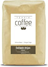Teasia Coffee, Guatemala Antigua, Single Origin, Medium Roast, Whole Bean, 2-Pound Bag
