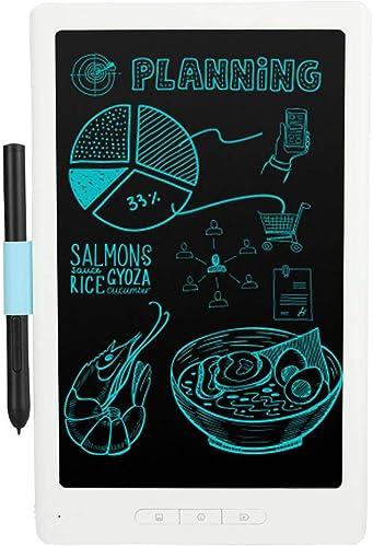 Kafuty 10 Pouces Tableau de Dessin Numérique, Tablette Intelligente bleutooth sans Fil, écran Flexible, 30 Heures d'Autonomie, Synchronisation de intelligentphone & Ordinateur