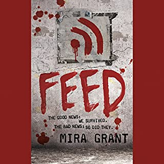 Feed     The Newsflesh Trilogy, Book 1              By:                                                                                                                                 Mira Grant                               Narrated by:                                                                                                                                 Paula Christensen,                                                                                        Jesse Bernstein                      Length: 15 hrs and 10 mins     1,928 ratings     Overall 4.0