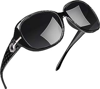 Joopin Oversized Polarised Sunglasses for Women, UV400 Protection Large Frame Womens Sunglasses Vintage Fashion Ladies Sun...