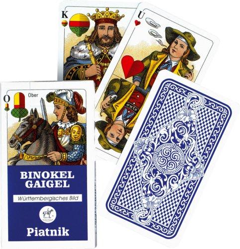 Piatnik 1823 Kartenspiel Binokel Gaigel