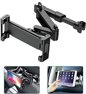 SHS2018 Justerbar surfplattehållare bil, universell surfplattehållare, bilnackstödsfäste för iPad iPhone-serien/Samsung Ga...
