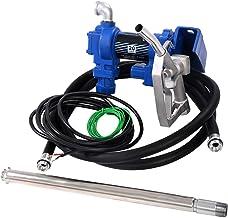 WATERWICH Diesel Fuel Transfer Pump Kit Forward /& Reverse Self-priming Oil Kerosene Biodiesel Pump DC12V 10GPM W//Hose /& Nozzle /& Alligator Clamps /& Filter