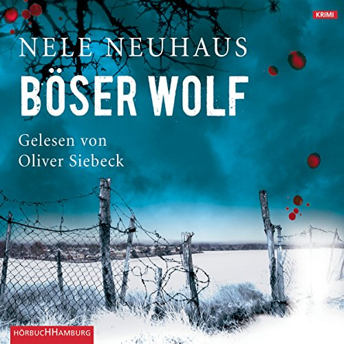 Böser Wolf (Bodenstein & Kirchhoff 6) audiobook cover art