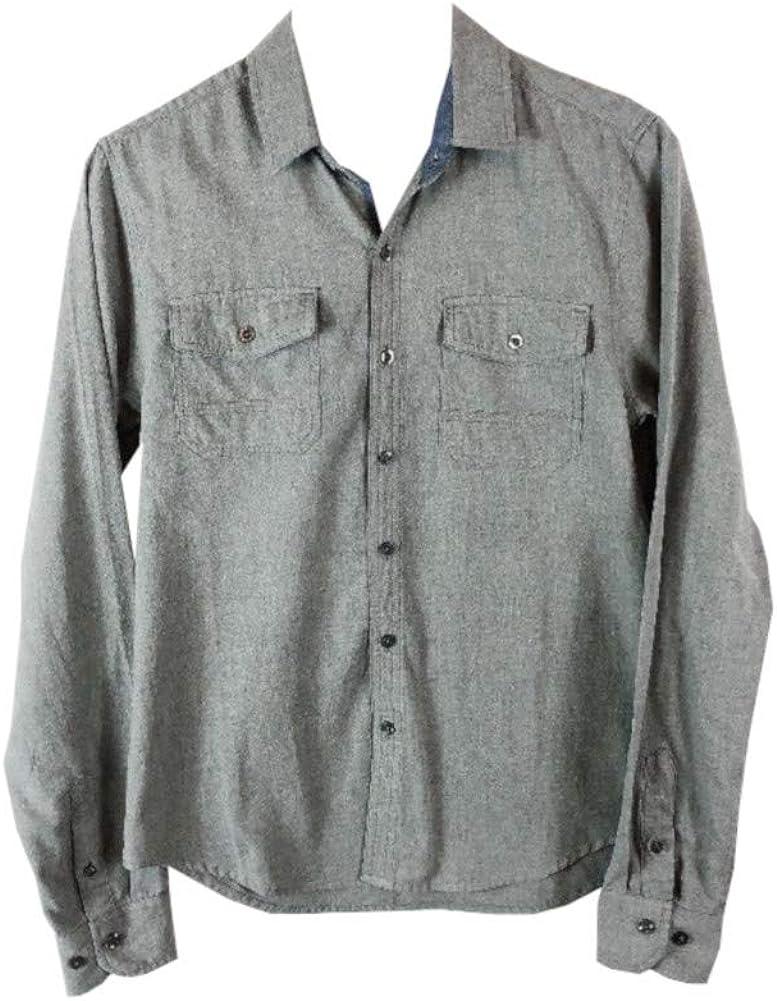 Sovereign Code Men's Button Down Shirt Grey