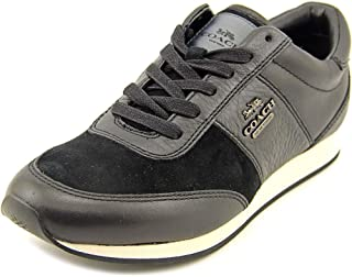 Coach Raylen Womens Chalk Leather Lace Up Fashion Sneakers