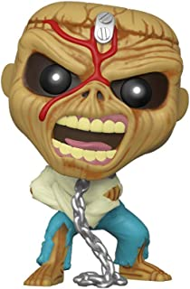 Funko- Pop Rocks: Iron Maiden-Piece of Mind (Skeleton Eddie) Collectible Toy, Multicolor (45983)