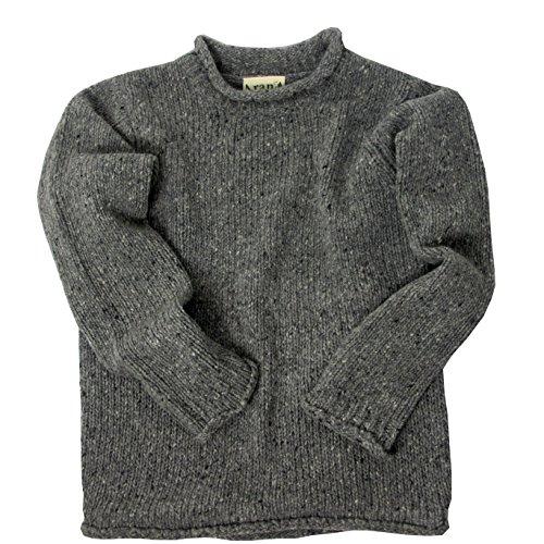 McLaughlin's Irish Shop Herrenpullover aus 100% irischer Tweed-Wolle