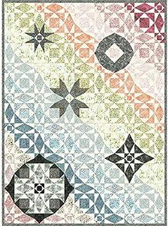 Benartex Wheel of Mystery Quilt Kit Precut Bali Batik Fabric /& Pattern