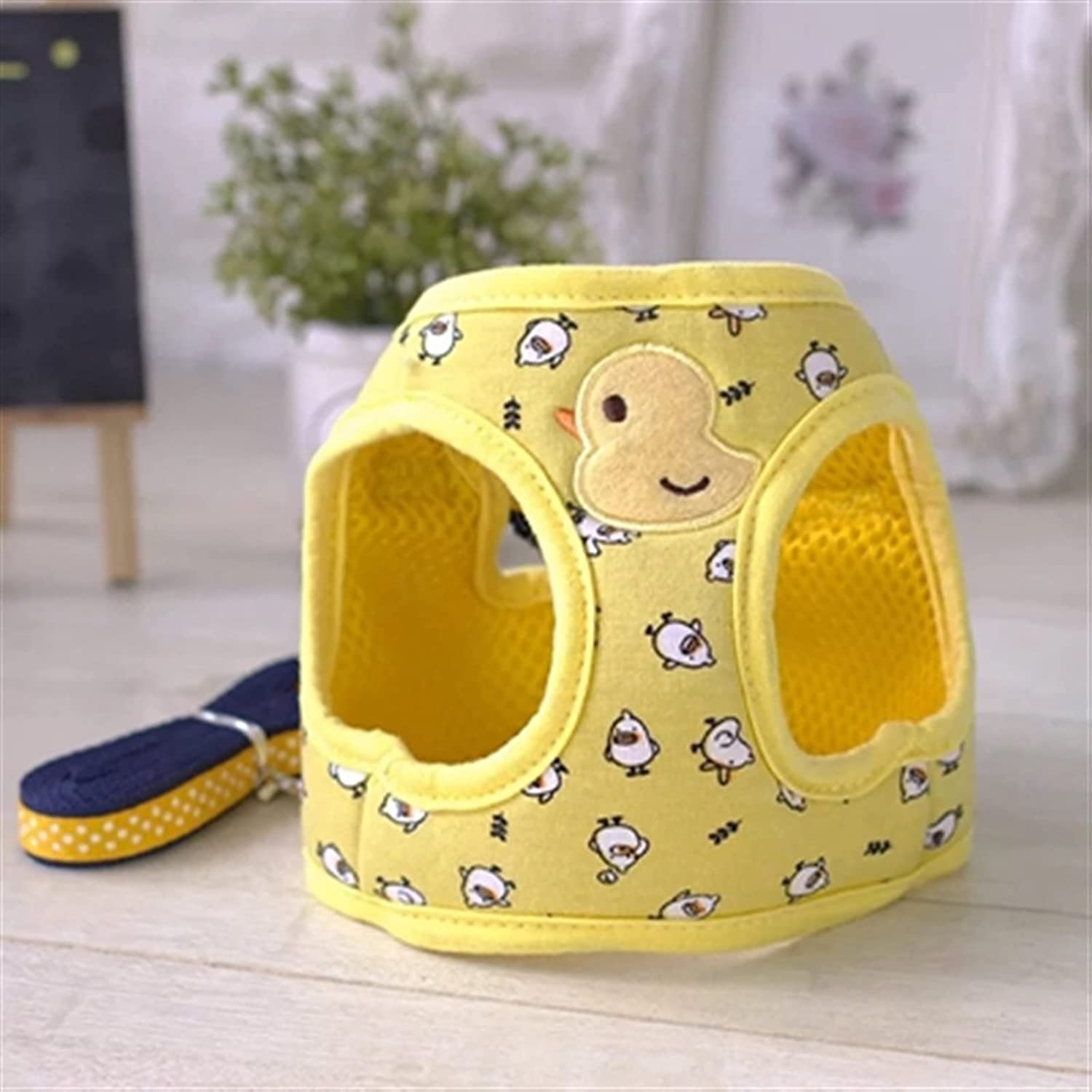 LUBINGT Pet Accessories Cute Dog Harness S Reservation Blue Yellow Mail order Vest Pink