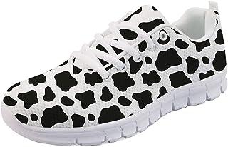 Hugding Baskets de course à pied et de marche pour femmes et filles – Chaussures de sport respirantes et légères