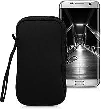 """kwmobile Housse de Protection pour Smartphone L - 6,5"""" - Sacoche de Protection pour Téléphone Portable en Néoprène Noir"""