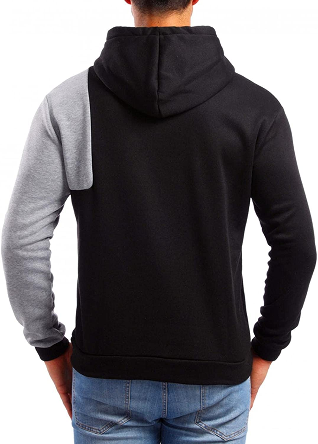 Hoodies for Men Cozy Camouflage Pullover Casual Loose Long Sleeve Sweatshirt Workout Sports Sweater Hoodies
