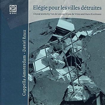 Elégie Pur Les Villes Détruites