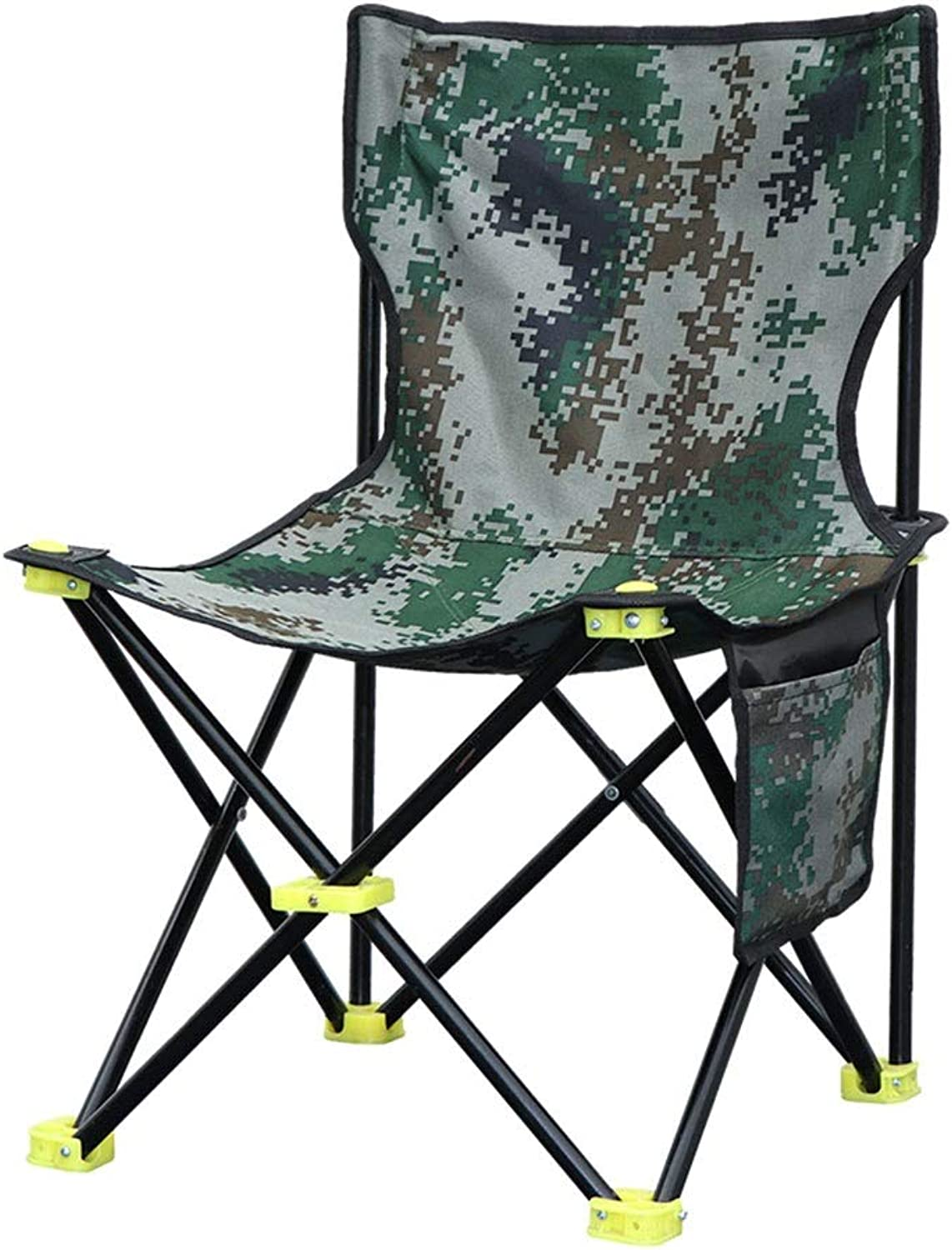 CGH Folding Camping Chair Portable Lightweight Backpack Chairs Compact Heavy Duty with Carry Bag for Hiking Picnic Beach Camp Backpacking Outdoor