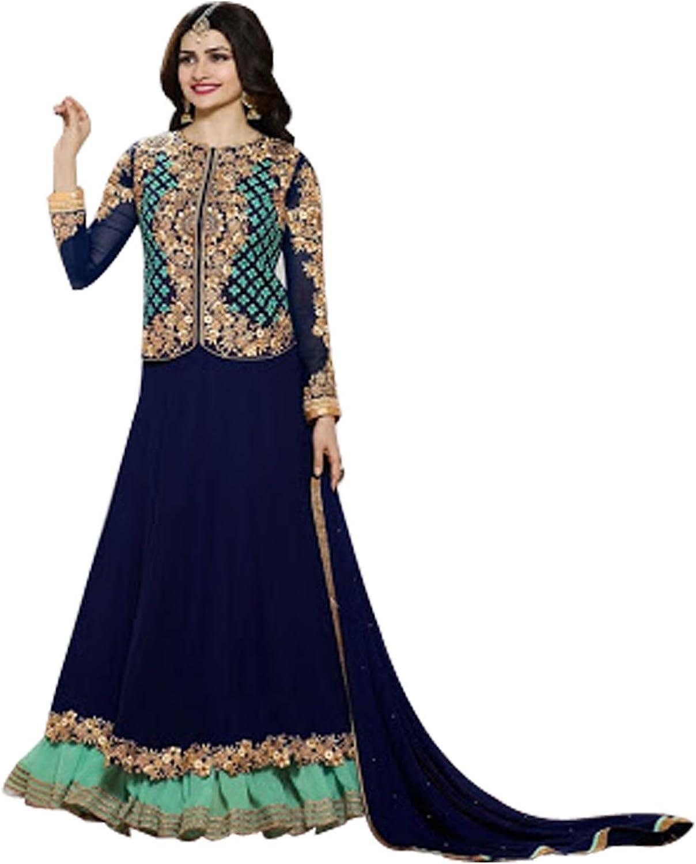 Bollywood Anarkali Shalwar Kameez Suit Wedding Ethnic Muslim Dress Sexy