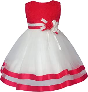 Baby Girl Dresses Ruffle Lace Pageant Party Wedding...