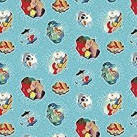 Springs Creative 63755-J520715 Disney-Posters 43/44 100% Cotton 15yd D/R [並行輸入品]