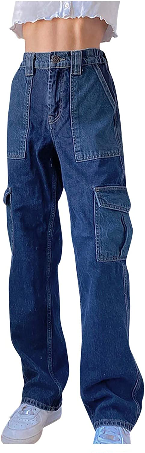 Womens Color Factory outlet Block Distressed Jeans Leg Straight Houston Mall Boyf High Waist