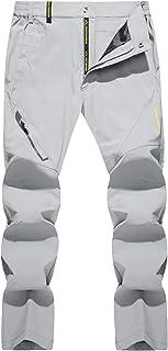 TACVASEN Men's Quick Dry Hiking Pants Water Resistant...