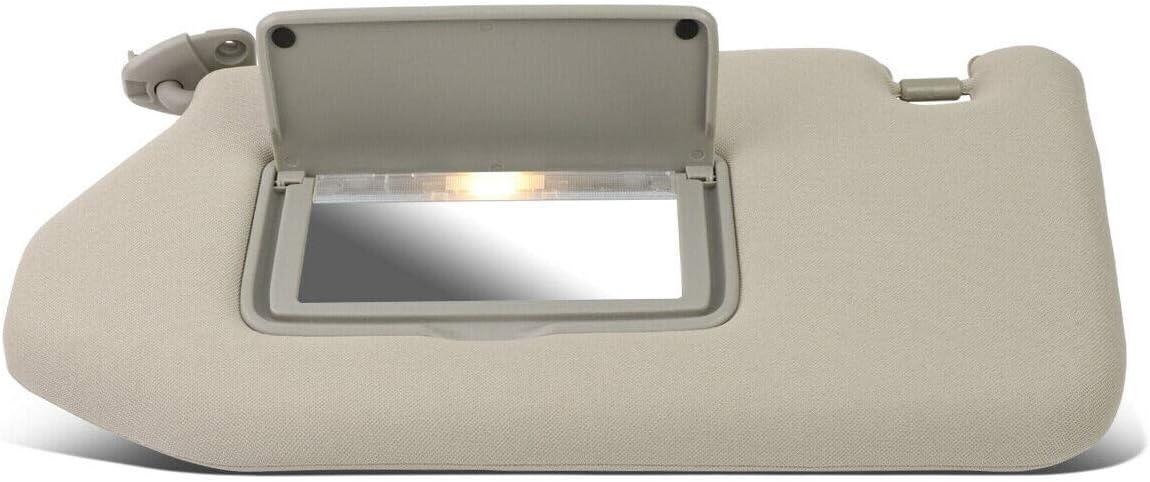 Vooviro Excellent OE Style Interior Left free shipping Sun Visor C Driver Max 47% OFF Grey