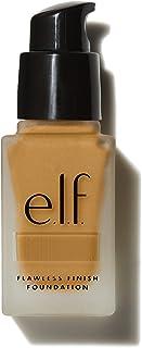 e.l.f. Flawless Finish Foundation, Lightweight & Medium Coverage, Semi-Matte Finish, Suede, 0.68 Fl Oz (20mL)