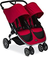 Britax 2017 B-Agile Double Stroller, Red