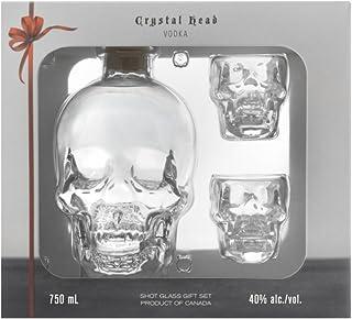 Crystal Head Vodka mit 2 Shotgläsern 1 x 0.7 l